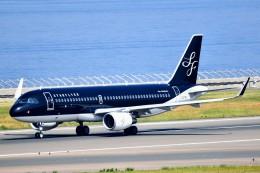 のぶさん。さんが、中部国際空港で撮影したスターフライヤー A320-214の航空フォト(飛行機 写真・画像)