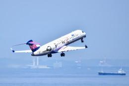 のぶさん。さんが、中部国際空港で撮影したアイベックスエアラインズ CL-600-2C10 Regional Jet CRJ-702ERの航空フォト(飛行機 写真・画像)