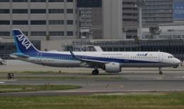 新城良彦さんが、伊丹空港で撮影した全日空 A321-272Nの航空フォト(飛行機 写真・画像)