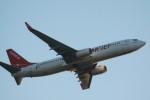 Mr.boneさんが、福岡空港で撮影したイースター航空 737-8Q8の航空フォト(飛行機 写真・画像)
