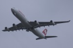 Mr.boneさんが、成田国際空港で撮影したスイスインターナショナルエアラインズ A340-313Xの航空フォト(飛行機 写真・画像)