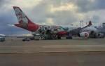 Rsaさんが、台湾桃園国際空港で撮影したエアアジア・エックス A330-343Xの航空フォト(飛行機 写真・画像)