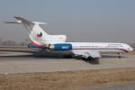 Hariboさんが、北京首都国際空港で撮影したチェコ航空 Tu-154Mの航空フォト(飛行機 写真・画像)