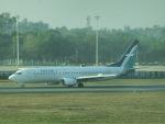 ヒロリンさんが、ヤンゴン国際空港で撮影したシルクエア 737-8SAの航空フォト(飛行機 写真・画像)