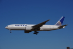 JA8037さんが、成田国際空港で撮影したユナイテッド航空 777-224/ERの航空フォト(飛行機 写真・画像)