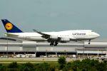 まいけるさんが、スワンナプーム国際空港で撮影したルフトハンザドイツ航空 747-430の航空フォト(飛行機 写真・画像)