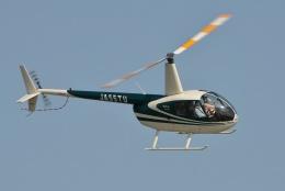 ブルーさんさんが、東京ヘリポートで撮影した日本法人所有 R44 Ravenの航空フォト(飛行機 写真・画像)