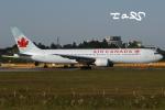 tassさんが、成田国際空港で撮影したエア・カナダ 767-375/ERの航空フォト(飛行機 写真・画像)