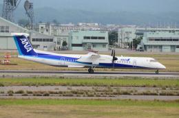 ITM58さんが、小松空港で撮影したANAウイングス DHC-8-402Q Dash 8の航空フォト(飛行機 写真・画像)