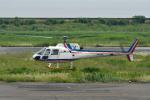 Gambardierさんが、岡南飛行場で撮影した四国航空 AS350B Ecureuilの航空フォト(飛行機 写真・画像)