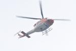 500さんが、自宅上空で撮影した新日本ヘリコプター 412EPの航空フォト(飛行機 写真・画像)