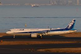 wisさんが、羽田空港で撮影した全日空 A321-272Nの航空フォト(飛行機 写真・画像)