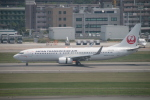 myoumyoさんが、福岡空港で撮影した日本トランスオーシャン航空 737-8Q3の航空フォト(飛行機 写真・画像)