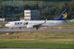 myoumyoさんが、福岡空港で撮影したスカイマーク 737-86Nの航空フォト(飛行機 写真・画像)