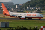 myoumyoさんが、福岡空港で撮影したチェジュ航空 737-8Q8の航空フォト(飛行機 写真・画像)