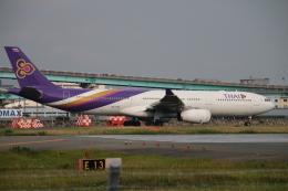 myoumyoさんが、福岡空港で撮影したタイ国際航空 A330-343Xの航空フォト(飛行機 写真・画像)