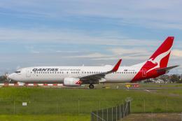 mameshibaさんが、シドニー国際空港で撮影したカンタス航空 737-838の航空フォト(飛行機 写真・画像)