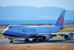 リュウキさんが、関西国際空港で撮影したチャイナエアライン 747-409F/SCDの航空フォト(飛行機 写真・画像)