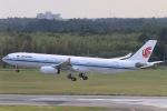 だいすけさんが、成田国際空港で撮影した中国国際航空 A330-343Xの航空フォト(飛行機 写真・画像)