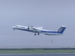 蒲田っ子さんが、羽田空港で撮影したANAウイングス DHC-8-402Q Dash 8の航空フォト(飛行機 写真・画像)