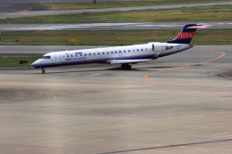 forgingさんが、伊丹空港で撮影したアイベックスエアラインズ CL-600-2C10 Regional Jet CRJ-702ERの航空フォト(飛行機 写真・画像)