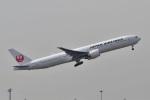 wisさんが、羽田空港で撮影した日本航空 777-346/ERの航空フォト(飛行機 写真・画像)