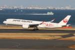 青春の1ページさんが、羽田空港で撮影した日本航空 A350-941の航空フォト(飛行機 写真・画像)