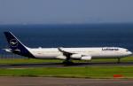 T.Kenさんが、羽田空港で撮影したルフトハンザドイツ航空 A340-313Xの航空フォト(飛行機 写真・画像)