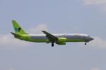 マーサさんが、成田国際空港で撮影したジンエアー 737-86Nの航空フォト(飛行機 写真・画像)