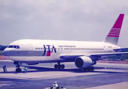 rokko2000さんが、宮古空港で撮影した日本トランスオーシャン航空 767-246の航空フォト(飛行機 写真・画像)