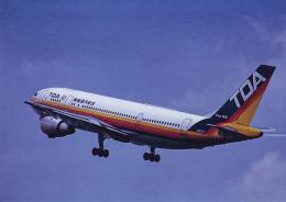 rokko2000さんが、伊丹空港で撮影した東亜国内航空 A300C4-203の航空フォト(飛行機 写真・画像)