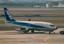 rokko2000さんが、伊丹空港で撮影したエアーニッポン 737-281/Advの航空フォト(飛行機 写真・画像)