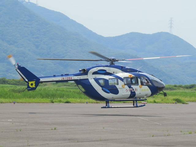 F.YUKIHIDEさんが、岡南飛行場で撮影した徳島県消防防災航空隊 BK117C-2の航空フォト(飛行機 写真・画像)