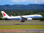 むらさめさんが、新千歳空港で撮影した中国国際航空 A330-243の航空フォト(飛行機 写真・画像)