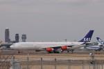 KAZFLYERさんが、成田国際空港で撮影したスカンジナビア航空 A340-313Xの航空フォト(飛行機 写真・画像)