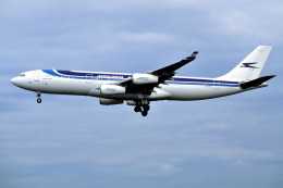 パール大山さんが、シドニー国際空港で撮影したアルゼンチン航空 A340-211の航空フォト(飛行機 写真・画像)