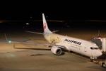 安芸あすかさんが、北九州空港で撮影した日本航空 737-846の航空フォト(飛行機 写真・画像)