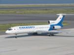 kahluamilkさんが、中部国際空港で撮影したプルコボ航空 Tu-154Mの航空フォト(飛行機 写真・画像)