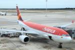 安芸あすかさんが、バルセロナ空港で撮影したアビアンカ航空 A330-243の航空フォト(飛行機 写真・画像)