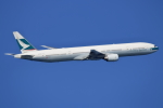 NANASE UNITED®さんが、羽田空港で撮影したキャセイパシフィック航空 777-367の航空フォト(飛行機 写真・画像)
