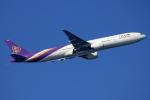 NANASE UNITED®さんが、羽田空港で撮影したタイ国際航空 777-3D7/ERの航空フォト(飛行機 写真・画像)