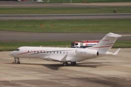 Mr.boneさんが、福岡空港で撮影したプライベートエア BD-700-1A10 Global 6000の航空フォト(飛行機 写真・画像)