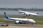 mahiちゃんさんが、羽田空港で撮影した日本航空 777-346/ERの航空フォト(飛行機 写真・画像)
