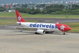 kumagorouさんが、仙台空港で撮影したエーデルワイス航空 A330-243の航空フォト(飛行機 写真・画像)