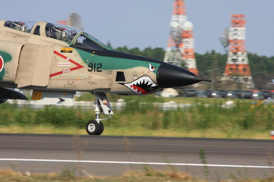 F-4さんの航空自衛隊 McDonnell Douglas RF-4E Phantom II (57-6912) 航空フォト