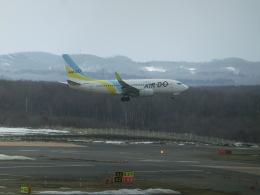 ヒロリンさんが、新千歳空港で撮影したAIR DO 737-781の航空フォト(飛行機 写真・画像)