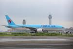 安芸あすかさんが、羽田空港で撮影した大韓航空 777-2B5/ERの航空フォト(飛行機 写真・画像)
