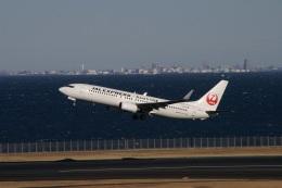 ガペ兄さんが、羽田空港で撮影したJALエクスプレス 737-846の航空フォト(飛行機 写真・画像)