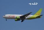 tassさんが、成田国際空港で撮影したビバ・マカオ 767-284/ERの航空フォト(飛行機 写真・画像)