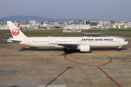 kan787allさんが、福岡空港で撮影した日本航空 777-346/ERの航空フォト(飛行機 写真・画像)